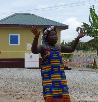 Student of Dzorwulu A & B Primary School
