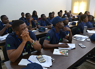 Practical Agricultural Course (PAC) and commercial farm-Classroom session