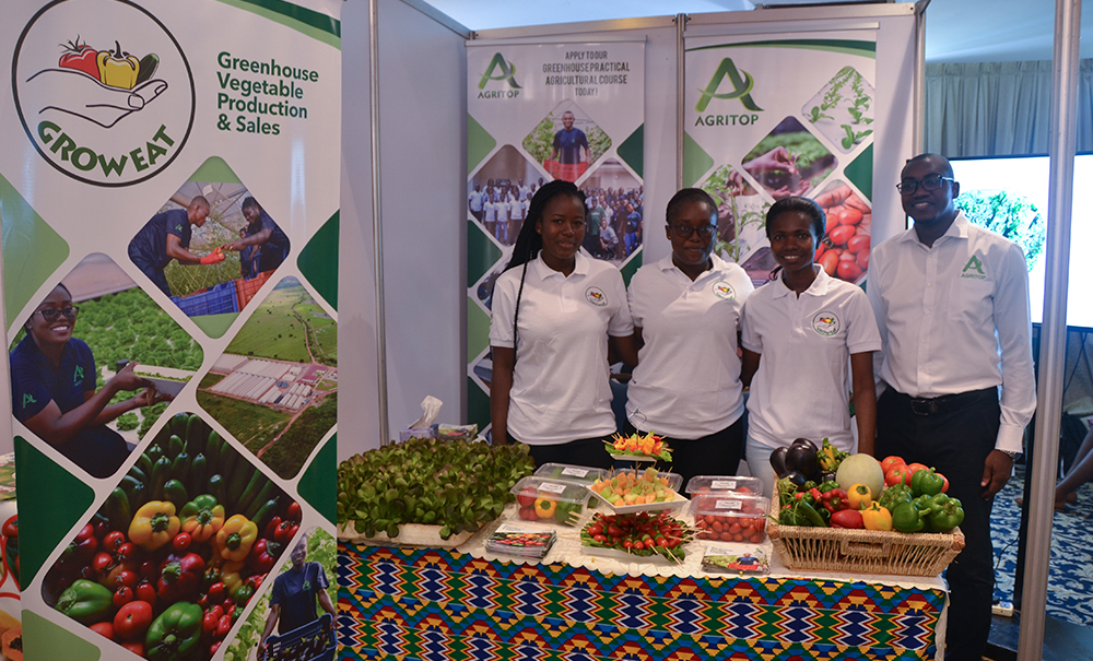 Agritop/Groweat at Hortifresh Exhibition